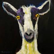 Goat Gloat Art Print