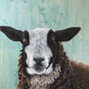 Goat Tee Art Print