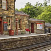 Goathland Railway Station, Train Station From Harry Potter Art Print