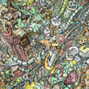 Goblin Factory Art Print