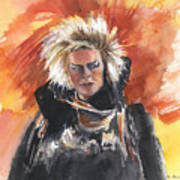 Goblin King At His Best Art Print