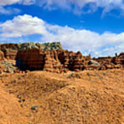 Goblin Valley Pano 3 Art Print