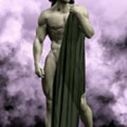 God Of The Underworld Art Print