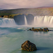 Godafoss In Iceland Art Print