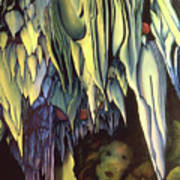 Goddes Of Carlsbad Caverns Art Print