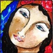 Goddess Bless Art Print