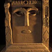 Goddess Hayyan Idol From The Temple Art Print