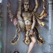 Goddess Khali In Singapore Art Print