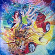 Goddess Of 21st C Art Print