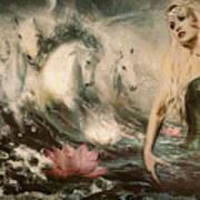 Goddess Of Bliss  Art Print