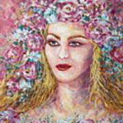 Goddess Of Good Fortune Art Print