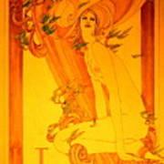 Goddess Of Health Art Print