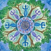 Goddesses Dancing Art Print