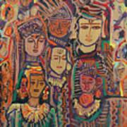 Gods And Angels Art Print