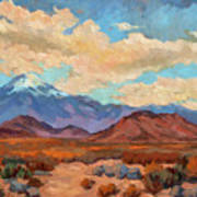 God's Creation Mt. San Gorgonio  Art Print