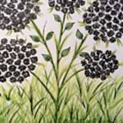 God's Only Me Wildflower  Art Print