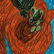 God's Supportive Hand Art Print