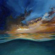 God's Wave Of Love Art Print