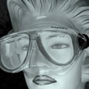 Goggle Me Art Print
