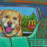 Goin' To Mickey D's With My Peeps Art Print