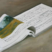 Going By The Book Art Print