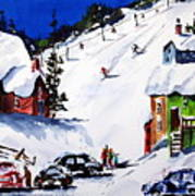 Going Downhill Art Print