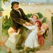 Going To The Fair Print by Frederick Morgan