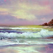 Gold Beach Art Print