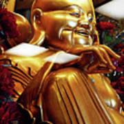 Gold Buddha 5 Art Print