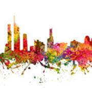 Gold Coast Australia Cityscape 08 Art Print