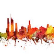 Gold Coast Cityscape 04 Art Print