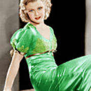 Gold Diggers Of 1933, Ginger Rogers Art Print