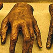 Gold Fingers Art Print