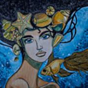 Gold Fish Art Print