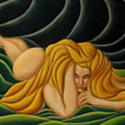 Seduction In Swirls Art Print