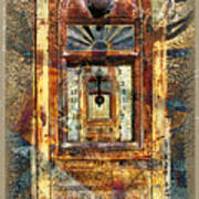 Gold Mine Gas Pump Art Print