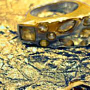Gold On Gold Art Print