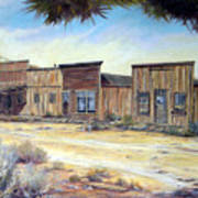 Gold Point Nevada Art Print by Evelyne Boynton Grierson