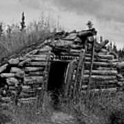Gold Rush Cabin - Yukon Art Print