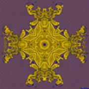 Golden Artifact Art Print