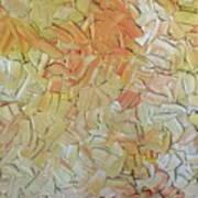 Golden Blossom Art Print