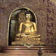 Golden Buddha Of Chang Mai Art Print