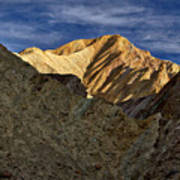 Golden Canyon View #2 - Death Valley Art Print