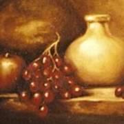 Golden Carafe Art Print