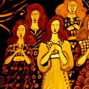 Golden Chords Art Print