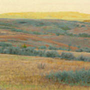 Golden Dakota Horizon Dream Art Print