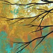 Golden Fascination 1 Art Print