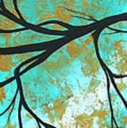 Golden Fascination 3 Art Print