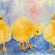Golden Fluff Art Print