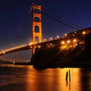 Golden Gate Bridge 1 Art Print